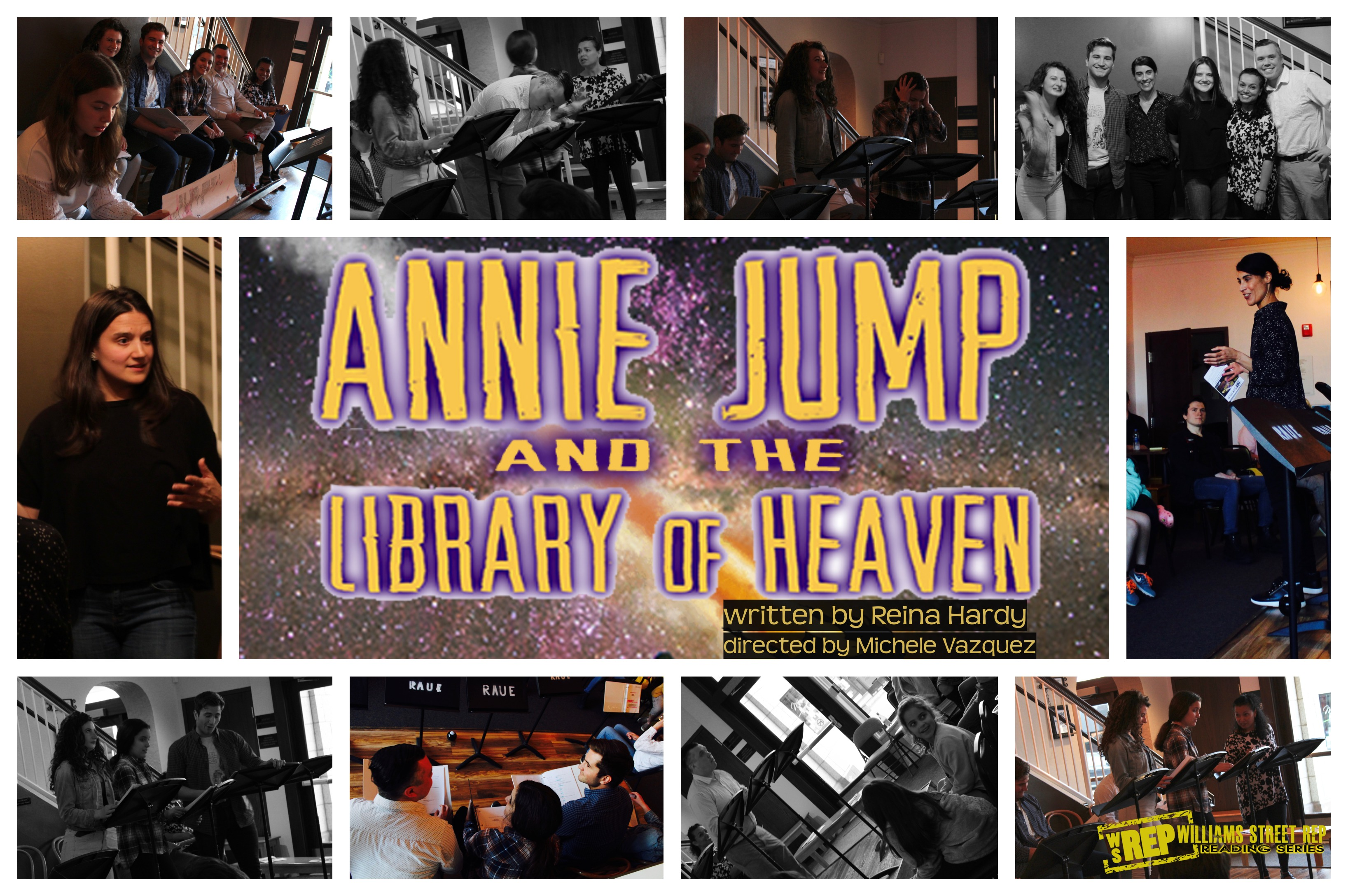 Annie Jump And The Library Of Heaven Wsrep